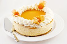 Mango, Sweet Pastries, Healthy Treats, Vegan Desserts, Cheesecakes, Vanilla Cake, Food Inspiration, Coffee Shop, Cupcake Cakes