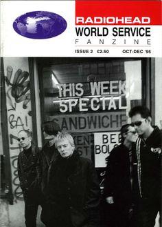 Radiohead - Magazine Covers 1995