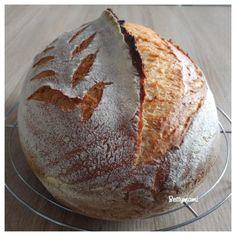 Sörös kovászos kenyér   Betty hobbi konyhája Love Eat, Hobbit, Bakery, Food And Drink, Healthy, Breads, Gardening, Foods, Bag