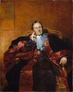 Claude Emmanuel Joseph Pierre Pastoret, Marquis de Pastoret (1755-1840). Chancelier de France et Président de la Chambre des Pairs.