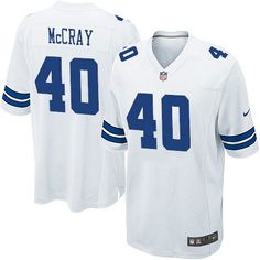 Elite Dallas #Cowboys Youth #Jersey #40 Danny #McCray White Nike NFL Authentic 3941 Dallas Cowboys 6654 #cowboysjersey