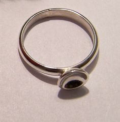 Little nailpolish ring 925 silver.