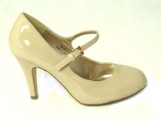 WOMENS-LADIES-MID-BLOCK-HEEL-MARY-JANE-OFFICE-FORMAL-WORK-DOLLY-STRAP-SHOES-SIZE