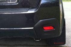 2013+ Subaru XV Crosstrek Mud Flaps Red logo, Rally Armor