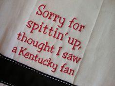 University of Louisville Burp Cloth