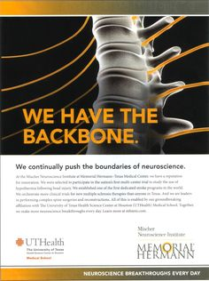 UT Health Print Ad - More Hospital Print Ads From My Bulletin Board