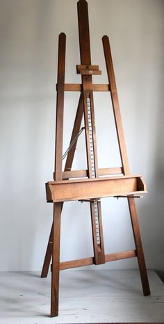large vintage anco artist easel by wretchedshekels on Etsy,
