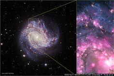 Black Hole X-Ray Burst From M83 Galaxy Spied By NASA Chandra Observatory