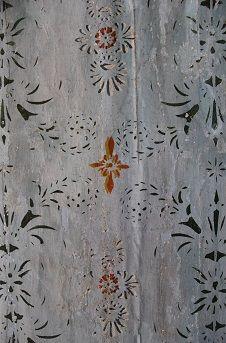 Skuggverkan Swedish Wallpaper, Stair Landing, Stenciled Floor, Wall Decor, Wall Art, Wabi Sabi, Home Living Room, Scandinavian Design, Fresco