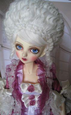 Peakswood BJD SD Size Doll Hautedoll Marie Antoinette OOAK   eBay