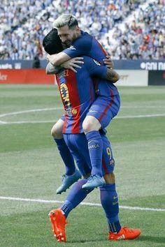 Messi y Suarez ...