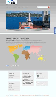 Logistics & Transport Company Website Design by Aspire Idea in Johor Bahru, Malaysia.  For corporate website design, please visit http://www.aspireidea.net/profile/products/web-design