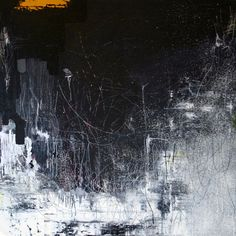 COURT LURIE--black/white painting