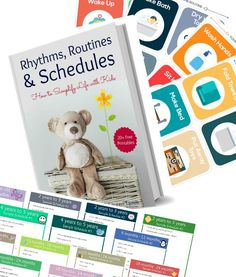 stay at home mom schedule routine pack