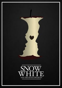 Liverpool-based graphic designer and artist Rowan Stocks-Moore has rendered Disney films the minimalist feel with his latest series of posters.    Taking on classic Disney titles like Snow White and The Seven Dwarves, Pinocchio, The Little Mermaid, The Lion King and many others, his posters feature strong silhouttes and iconic graphics.