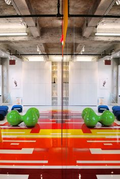 Architecture Design, Affordable Furniture Mirroring Landscape Interior Decoration Colorful Loft By Architect Jean Verville 14: Affordable Fu...