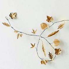 Leaves String Lights | Lighting | Graham & Green