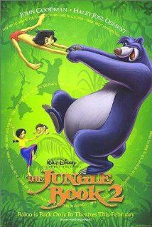 The Jungle Book 2 - 14 Feb 2003; I watched it on 15 Feb 2017