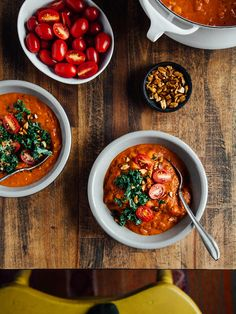Spicy peanut stew with butternut squash + chickpeas — OLC Veggie Recipes, Soup Recipes, Vegetarian Recipes, Cooking Recipes, Healthy Recipes, Vegetarian Dinners, What's Cooking, Vegan Vegetarian, Yummy Recipes