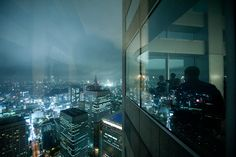 """One of the best free observatories in Tokyo. """"Metropolitan Government Buildings - 27/05/2010 - Tokyo - Japon"""" by David B., via 500px."""