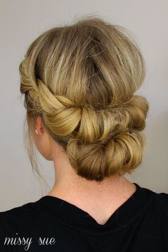 haar opsteken Tuck and Cover French Braid Half with a Bun Headband Hair Tuck, Updo With Headband, Fancy Hairstyles, Wedding Hairstyles, Wedding Hair And Makeup, Hair Makeup, Bridal Hair Inspiration, Natural Hair Styles, Long Hair Styles