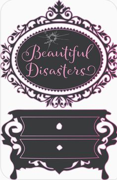 Follow me on Instagram (@beautiful.dsasters) Beautiful Disasters flips disaster furniture into beautiful pieces meant to find a home!