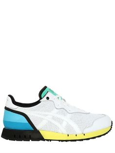 ONITSUKA TIGER PER ANDREA POMPILIO - 'X-CALIBER' PERFORATED LEATHER SNEAKERS - LUISAVIAROMA