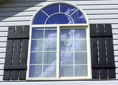 Old wooden shutters on pinterest shutter projects for Make your own shutters