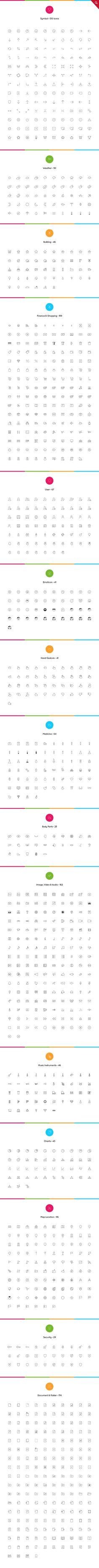 2061 nanoline icons - 70 off App Design, Book Design, Flat Design, Simple Icon, Best Icons, Ios Icon, Design Graphique, Web Design Inspiration, Design Ideas