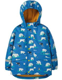 Buy Puddle Buster Coat from Frugi: Shop for Puddle Buster Coat at Frugi. Made from Recycled Polyester get ready to tackle the rainy season. Organic Baby Clothes, Baby & Toddler Clothing, Toddler Outfits, Kids Outfits, Northern White Rhinoceros, Wellington Boot, Simple Dresses, Clothes For Sale, Beautiful Outfits