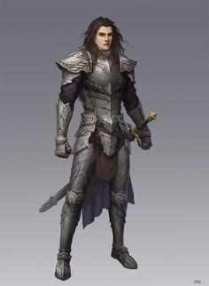 ArtStation - guard, Rui Jin