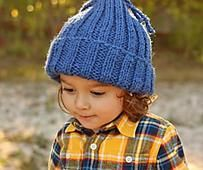 No-Brainer Knit Hat Pattern
