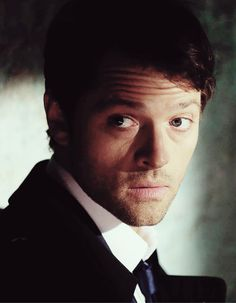Misha Collins in Supernatural, where he portrays there character Castiel (Angel of the Lord); #MishaCollins #Castiel #Supernatural