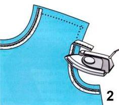 Обработка горловины и пройм изделия обтачкой | pokroyka.ru-уроки кроя и шитья