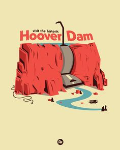 The Hoover Dam Visit our nation's historic, and surprisingly clean, landmark! Designed by Ryder Doty Scoring now on Threadless