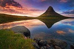 kirkjufell mountain iceland; landscape photography #photography