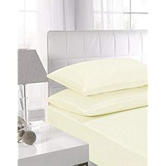 Shop for Niys Luxury Bedding Egyptian Cotton Flat Sheets (double, Cream). Starting from Compare live & historic home bed and bath prices. Fitted Bed Sheets, Flat Sheets, King Sheets, Linen Rentals, Egyptian Cotton, Luxury Bedding, Linen Bedding, King Size, Mattress