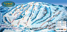 Tyrol Basin Family Ski and Snowboard Area in Mt Horeb, WI