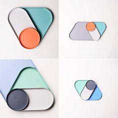 APOP pieces of plastic BKID co design industrial design studio in Seoul Republic of Seoul Korea Web Design, Design Lab, Shape Design, Food Design, Ceramic Tableware, Ceramic Pottery, Ceramic Art, Kitchenware, Module Design