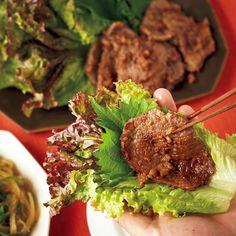 牛焼き肉の野菜巻き レシピ レシピ 料理 レシピ 焼肉 レシピ