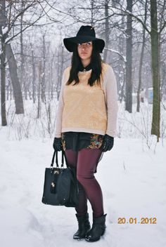 new look on StarPiq New Look, That Look, Leather Pants, Hipster, Hats, Outfits, Diy, Fashion, Sombreros
