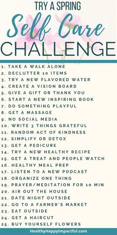 A spring self care challenge to make the most of this bright season! Get better … A spring self care challenge to make the most of this bright season! Get better mental health this month! With A Free Calendar! Affirmations, Vie Motivation, Fitness Motivation, Quotes Thoughts, Creating A Vision Board, Getting A Massage, Self Care Activities, Self Improvement Tips, Care Quotes