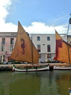 Twitter / @Voyages et Vagabondages: Bateaux de pecheurs restaures du 18e siècle a #Cesenatico