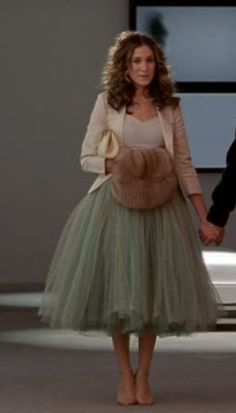 Lovely dress on Carrie Bradshaw| Sex And The City | An American Girl In Paris