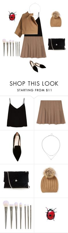 """""""Untitled #4239"""" by ayse-sedetmen ❤ liked on Polyvore featuring Raey, Nicholas Kirkwood, Lanvin and Chloé"""