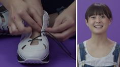 How to tie too-short shoe laces