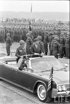 Kennedy Trip Date taken:1963 Photographer:John Dominis