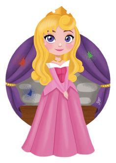 Aurora Pink Dress by Inehime on DeviantArt