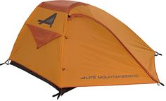 ALPS Mountaineering Zephyr 3 Tent #tent #camping #outdoor Enjoy a lighter hiking with this 2-pole free standing tent design, perfect for 3 people at most. The poles have been made from the 7000 series aluminum and it is easy to assemble as the pole clips snap easily and quickly onto the tent poles. These clips are also easy to remove. The polyester material keeps away the harmful UV rays and it remains taut in all weather. The floor and fly seams are perfect for maximum weather protection.