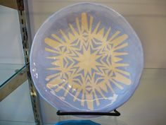 The Calvert Canvas: Adventures in Middle School Art!: Snowflake Stencil Plates